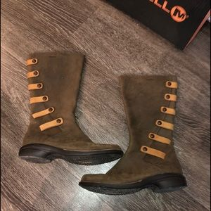Merrell Cinnamon Molasses Boots
